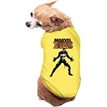 MayFay Marvel Zombies Vs Comic Book Series Dog Costumes Yellow Large