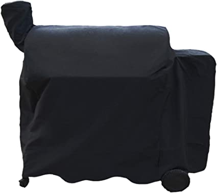 Amazon Com Bbqration Bac504 Wood Pellet Grill Cover For Traeger Pro 34 Series Bac380 600d Heavy Duty Waterproof Cover For Traeger 780 34 Series Grills Full Length Grill Cover 53 L X 27