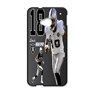 HTC One M7 Phone Case Black Oakland Raiders JDL694329