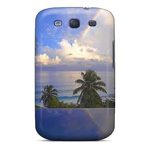 Nueva llegada con diseño para Galaxy S3 - trópicos Ocean nubes piscina