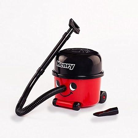 Henry Aspirador de mesa en rojo – mini polvo limpio migas: Amazon.es: Hogar