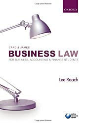 Card & James' Business Law for Business, Accounting, & Finance Students