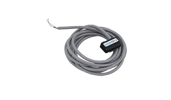 eDealMax 2 con cable Aire Cilindro neumático sensor magnético interruptor de láminas - - Amazon.com