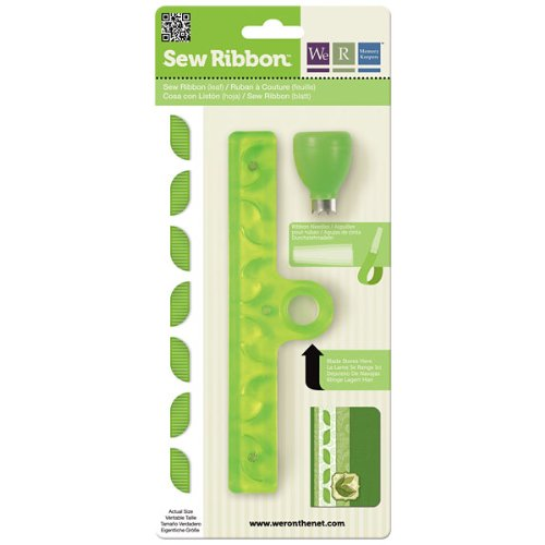 We R Memory Keepers Leaf Sew Ribbon Tool by We R Memory Keepers