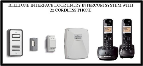 Intercom System Telephone Interface - TC211- BELL SYSTEM BT901 BELLTONE INTERFACE DOOR ENTRY INTERCOM SYSTEM WITH 2x CORDLESS PHONE