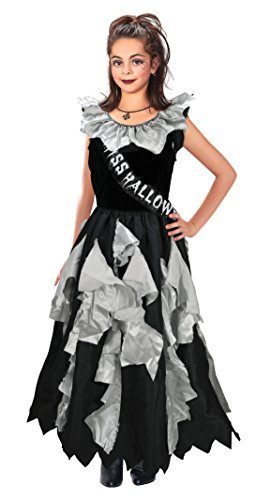 Bristol Novelty Zombie Prom Queen Costume (L) Age 7 - 9 Years ()