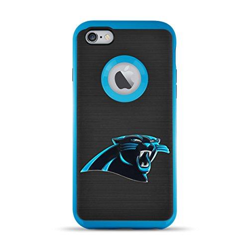 8/7 Flex Licensed Case with 3D Steel Cut Logo - NFL Carolina Panthers ()