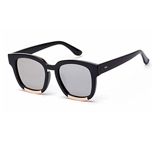 negro sobredimensionado de Rosso UV400 Sunglasses Retro rojo sol Gafas TL gafas de para Mujer de sol de sol gafas la hembra 4TwOg