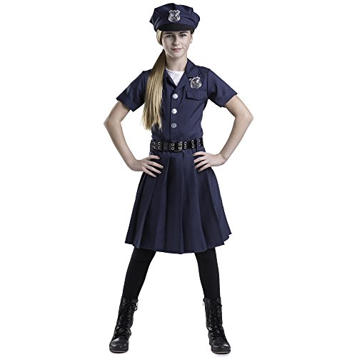 Dress Up America Girl's Police Officer Costume Teen