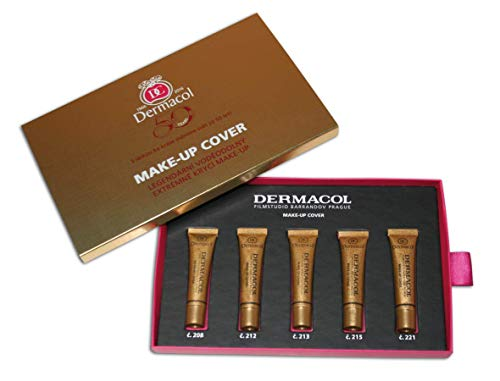 Dermacol Make-up Cover - Waterproof Hypoallergenic Foundation 30g 100% Original Guaranteed from Authorized Stockists - BUY 2 AND GET SATIN MAKEUP BASE FREE (227)