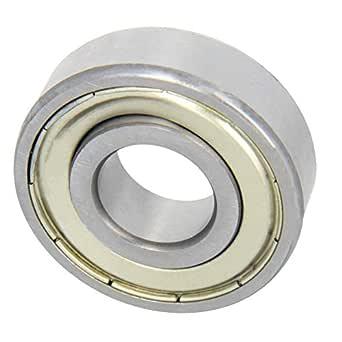 Othmro RLS6-2RS 2pcs GCr15 P0Z1 19.05x47.625x14.288mm Normal Accuracy Deep Groove Ball Bearing