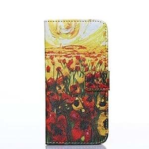 WQQ patrón de la pintura al óleo cubierta del cuerpo completo para iPhone6