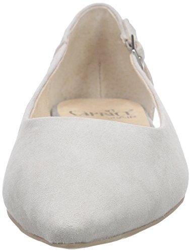 Caprice 22111 - Bailarinas Mujer Gris - Grau (GREY SUEDE 201)