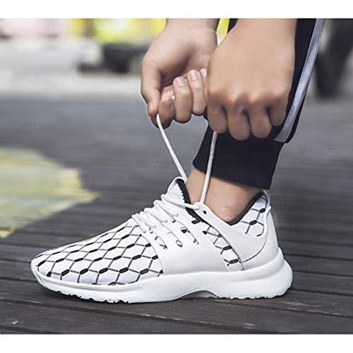 Allenamento Da Road Allenamenti Ginnastica Sportivo Cross Men's Mesh Scarpe Sneakers White Casual Fitness Athletic Per pHtqz71