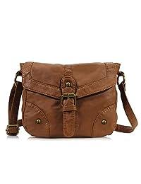Scarleton Soft Washed Casual Crossbody Bag H1874