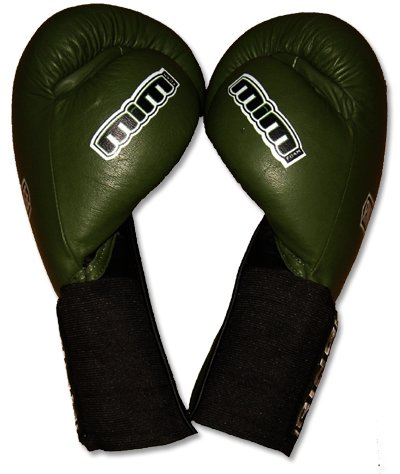 Deluxe MiM-Foam Sparring Gloves - Velcro/Elastic Cuff for Muay Thai, MMA, Kickboxing, Boxing-14oz