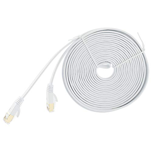 Docooler CAT 7 Ethernet Cables Computer Internet Flat LAN Network RJ45 Connector Cable 3/5/8M