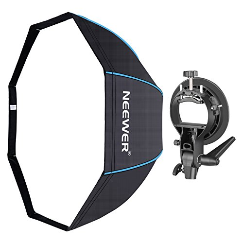 Neewer 48 inches/120 centimeters Octagonal Softbox with Blue