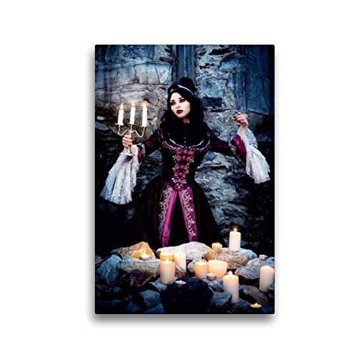 CALVENDO Toile en Textile de qualité supérieure - 30 cm x 45 cm - Gothique - Impression sur Toile - Impression sur Toile - Jessie D. Luna Humain
