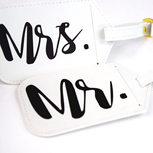 Dixie & Dot Mr. & Mrs. Luggage Tags (3-pack) by Dixie & Dot (Image #2)