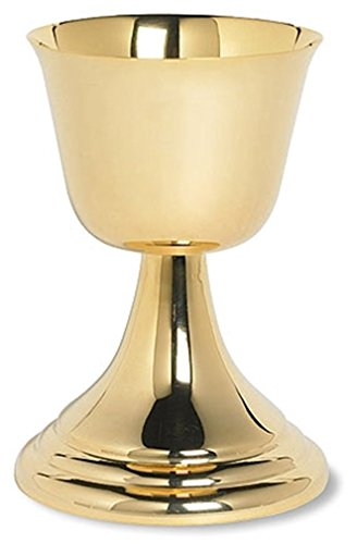 Stratford Chapel Gold Tone Classic Common Cup, 6 1/2 Inch by Stratford Chapel