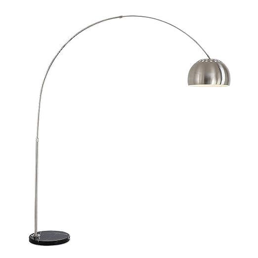 WPCBAA Lámpara de pie arqueada Sala de Estar Dormitorio luz de ...