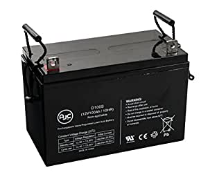Batería de SAI de 12V 100Ah Universal Power UB121000 - Es un recambio de la marca AJC®