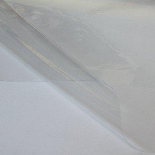 PVC Folie Plane TRANSPARENT 0,2 mm dünn - wasserdicht weich flexibel