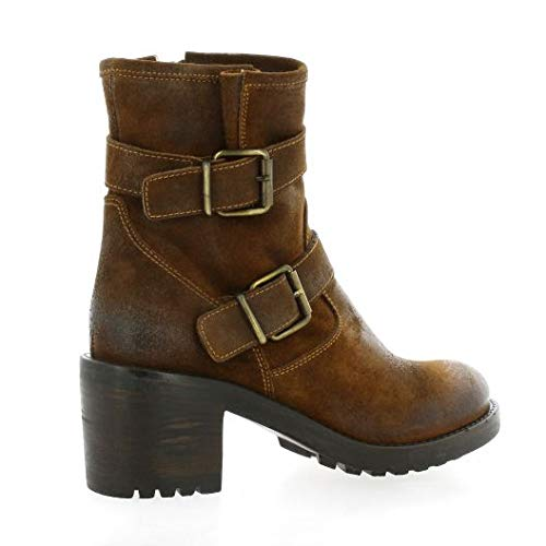 Pao Cognac Velours Cuir Boots Cognac rqaxn4U0q