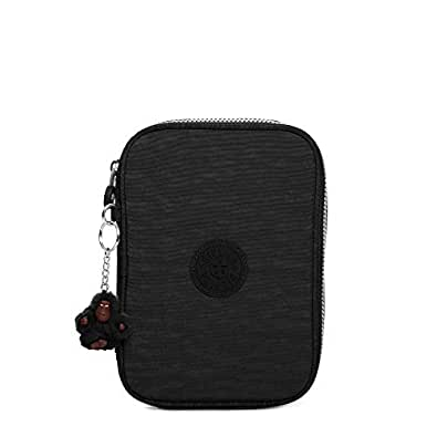 Kipling 100 Pen Case, Black, One Size