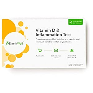 Gut Health Shop 41XhCEwjO%2BL._SS300_ Everlywell Vitamin D and Inflammation Test - at Home - CLIA-Certified Adult Test - Accurate Blood Analysis - Results…