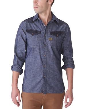 Men's Co Cowboy Borg Shirt Long Sleeve Shirt