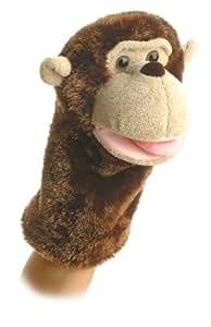 """Aurora World Montgomery Monkey Hand Puppet 10"""""""