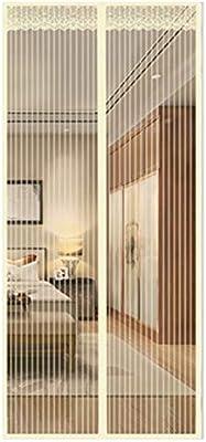 QDR Mosquitera Puerta Grande Terraza Exterior Corredera Cortina Enrollable, Ventilación, Fácil De Instalar, Automático, Anti-Mosquito, para Sala/Estar/Balcón,160x220cm(63x87inch): Amazon.es: Hogar