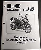 2010 KAWASAKI Z1000 & Z1000 ABS ASSEMBLY PREPARATION MANUAL 99931-1517-01 (403)