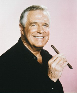 GEORGE PEPPARD AS COL JOHN QuotHANNIBALquot SMITH FROM THE A TEAM