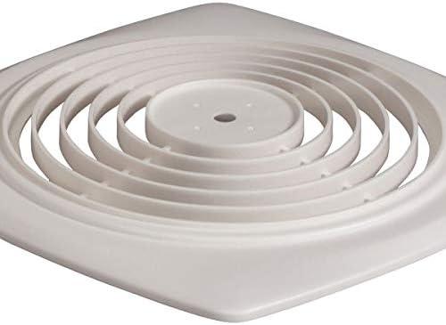 Nutone BP35 Broan Grille Knob Utility Fan, 8