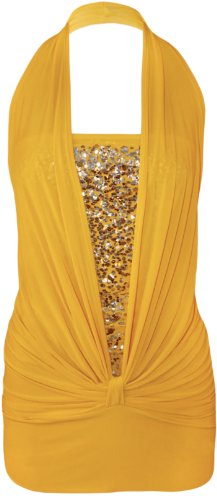 WearAll Top Jaune Donna Clair Top Donna WearAll Clair WearAll Jaune RqEw4B