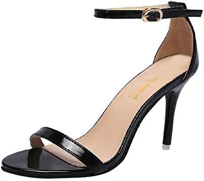 c47df5f4a Amazon.com  Hopwin Women Stiletto Heel Sandals