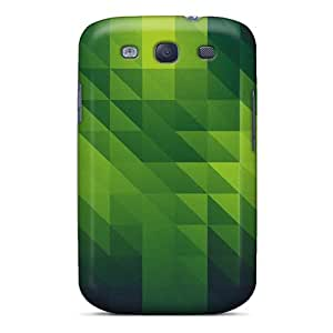 Special KellyMeeks Skin Case Cover For Galaxy S3, Popular Shades Of Green Phone Case
