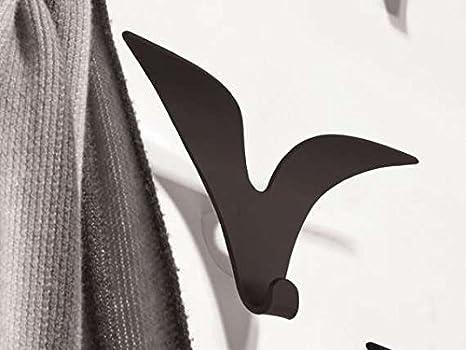 Appendiabiti Di Design Da Parete.Pezzani Jonathan Appendiabiti Da Parete Di Design Colore Titanio