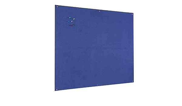 Unframed Fire Retardant Light Grey Noticeboard Office Schools –900mm x 600mm