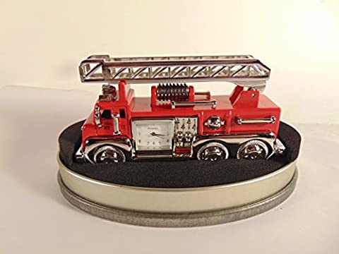 Fire Engine Desk Clock by FOSSIL (Fossil Limited Edition)