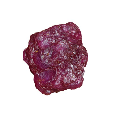 Healing Crystal Red Ruby 21.00 Ct. Natural Untreated Rough Certified Ruby Stone for Jewelry - Natural Untreated Ruby