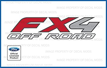 2017 Ford F350 F450 FX4 Off Road Decals Stickers Truck Side DUALLY DF set of 2