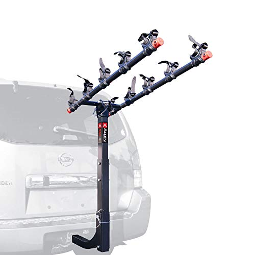 Allen Sports Deluxe 5-Bike Hitch Mount Rack with 2-Inch Receiver ()