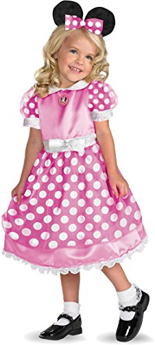 Home Bargains Costumes Halloween (Clubhouse Minnie Mouse Pink Toddler Costume - Toddler)