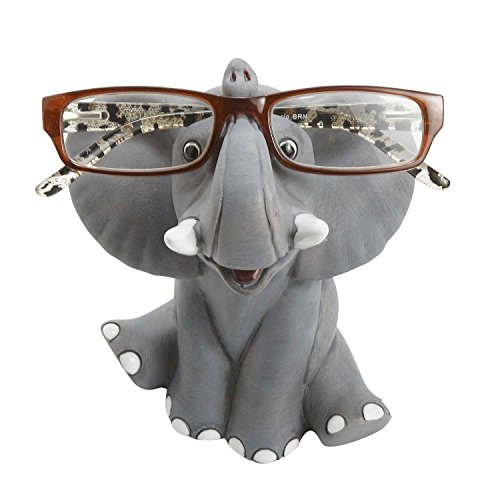 Happy Elephant Eyeglass Holder