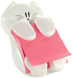 Post-it Cat Figure Pop-up Note Dispenser, 3 inch x 3 inch, (CAT-330)