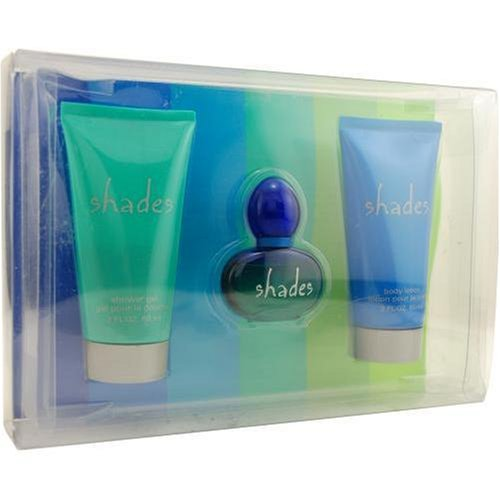 Shades By Navy For Women. Set-cologne Spray .37 OZ & Body Lotion 2 OZ & Shower Gel 2 OZ